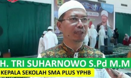 SMA PLus YPHB Gelar Tabligh Akbar